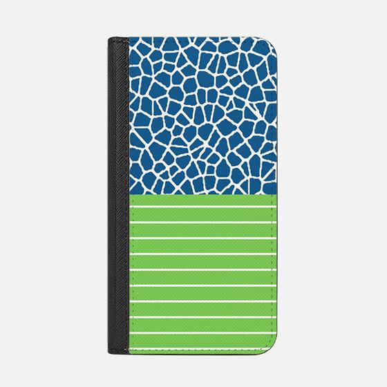 staklo (dark blue/white) - Wallet Case