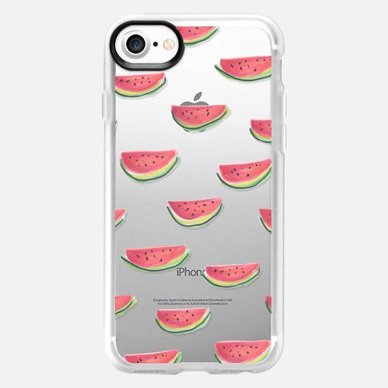 Watercolor Watermelon Clear - Classic Grip Case