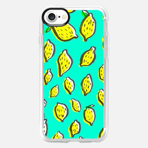 Limones de invierno - Snap Case