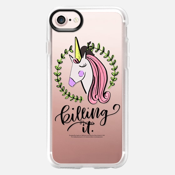 Unicorn Be Killing It - Wallet Case
