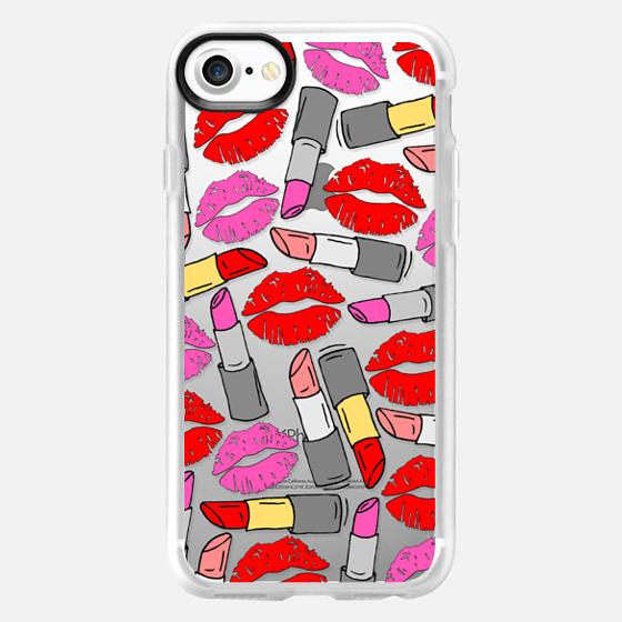 Lipstick & Lips - Classic Grip Case