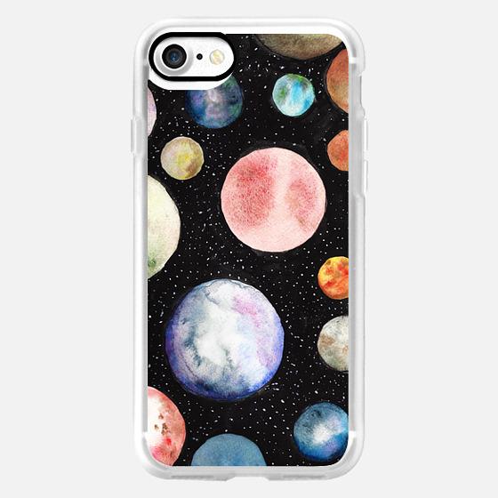 Watercolor Planet -