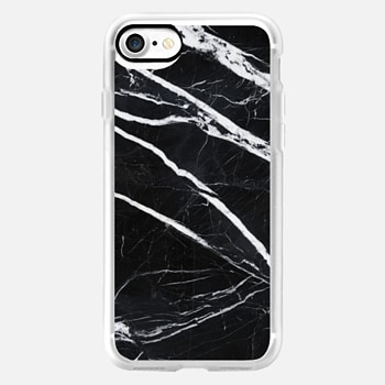 iPhone 7 Case Black marble