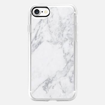 iPhone 7 Case White Marble
