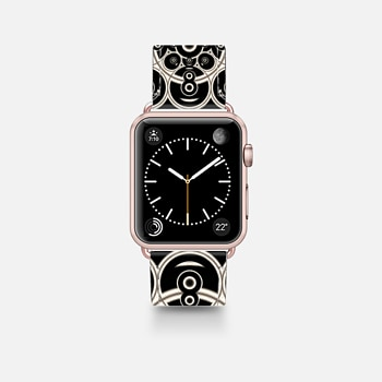 Apple Watch Band (42mm)  Black Lace