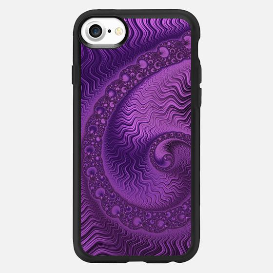 Purple Swirl - Classic Grip Case