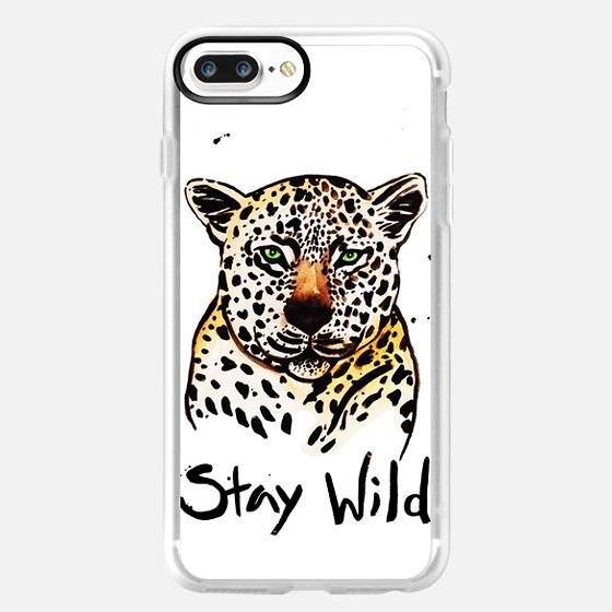 Stay Wild Cheetah Print -