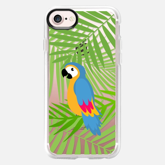 Tropical Parrot - Classic Grip Case