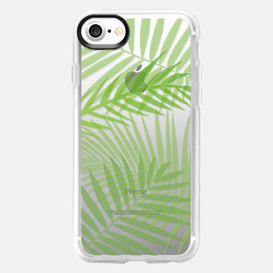 Transparent Tropic Leaves - Classic Grip Case