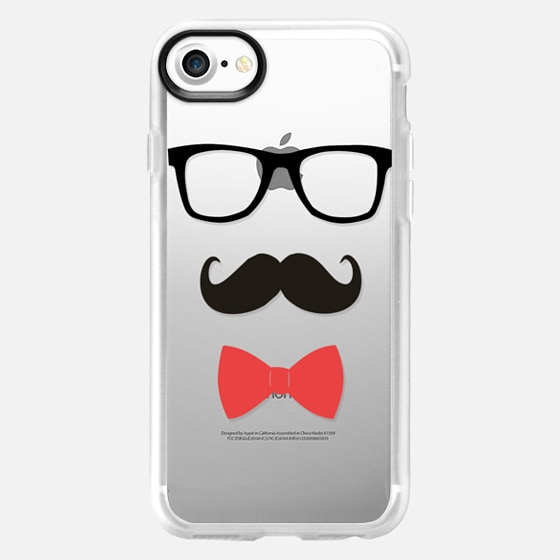 Stay Classy Mustache and bow tie - Wallet Case
