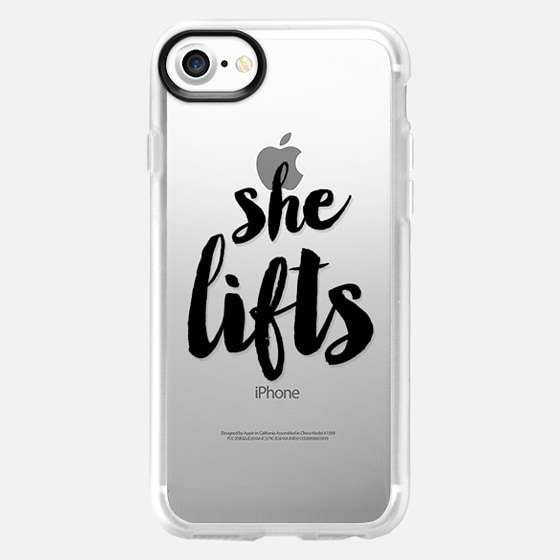 She Lifts - Fitness - Wallet Case
