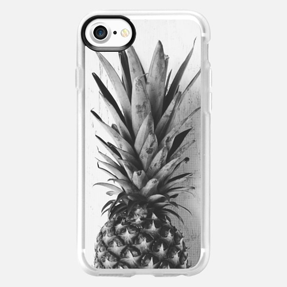 Black and white pineapple - Wallet Case