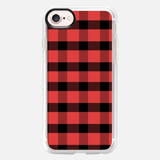 Red Flannel - Classic Grip Case