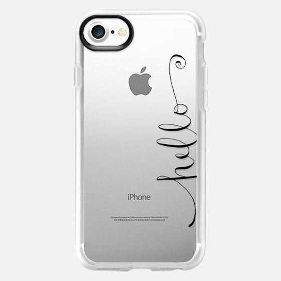 hello calligraphy - Classic Grip Case