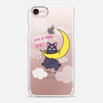 iPhone 7 Case Hang In There, Baby - Luna, Sailor Moon, Cat