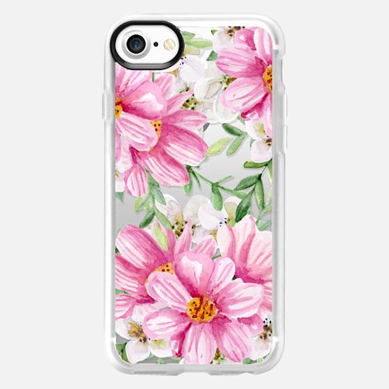 Pink bouquet - Wallet Case