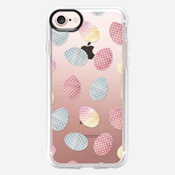 Easter eggs. Watercolor - Classic Grip Case