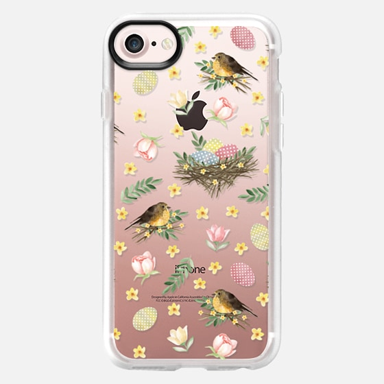Easter pattern. Watercolor - Classic Grip Case