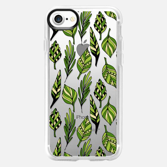 Ethnic leaf pattern - Classic Grip Case