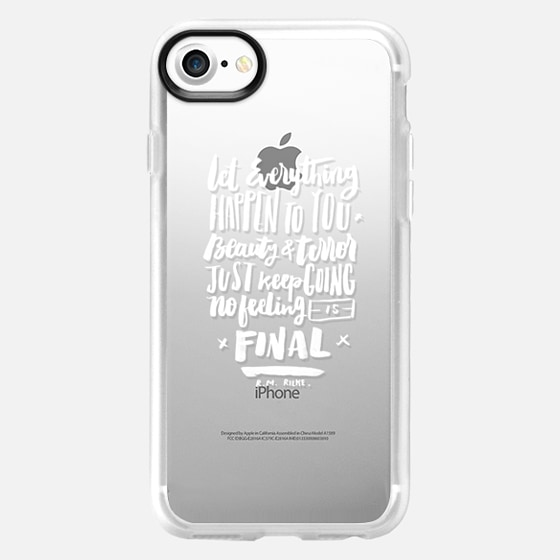 Beauty and Terror, Keep Going. - Wallet Case