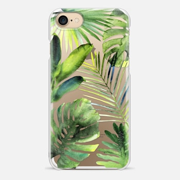 iPhone 7 Case Tropical leaves