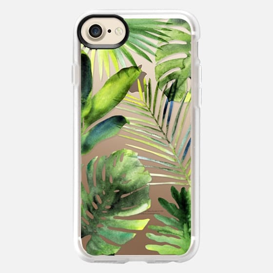 Tropical leaves - Classic Grip Case
