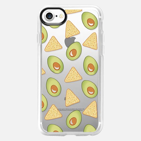 Avocado Guacamole Tortilla Chips - Wallet Case