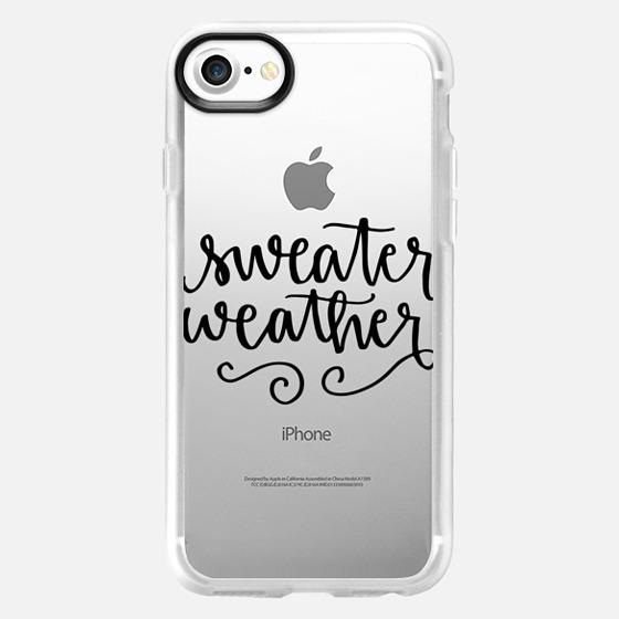 Sweater Weather - Wallet Case