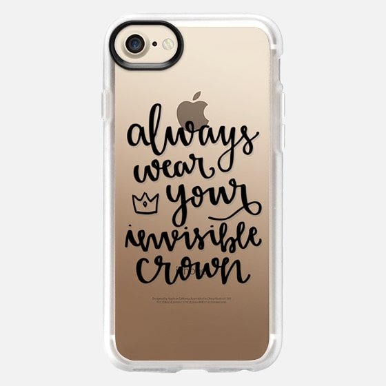 Always Wear Your Invisible Crown - Wallet Case