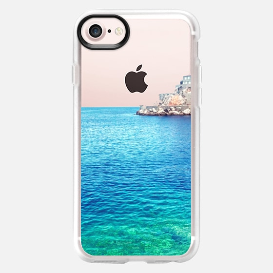 Rather be in Greece -- Transparent -- Summer Beach - Wallet Case