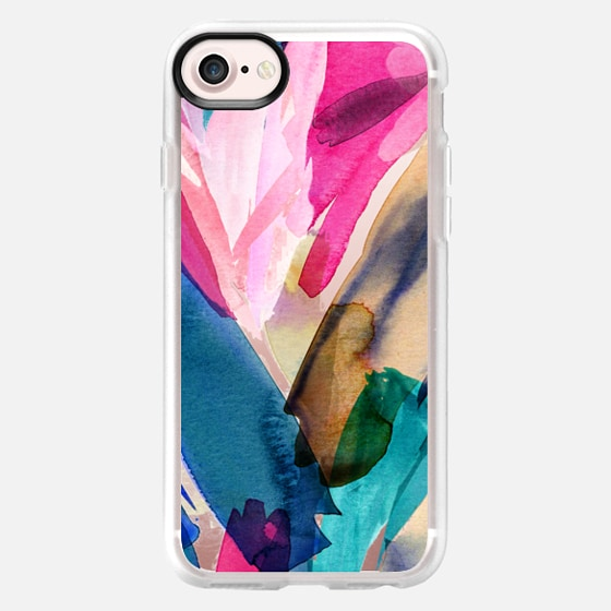 Colorful Abstract Painting - Wallet Case