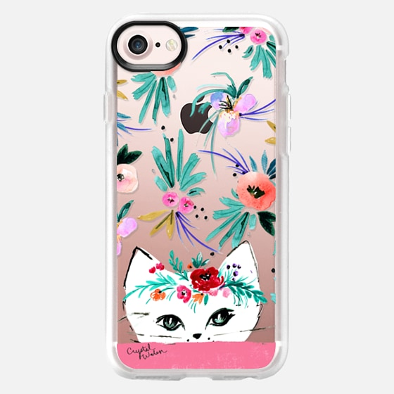 Kitty Floral - Classic Grip Case