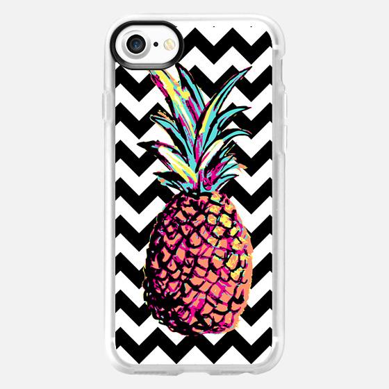Party Pineapple Chevron - Wallet Case