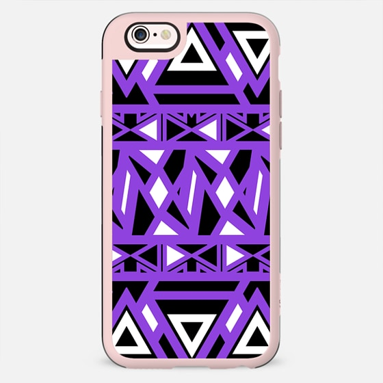 Purple Bold Tribal - New Standard Case