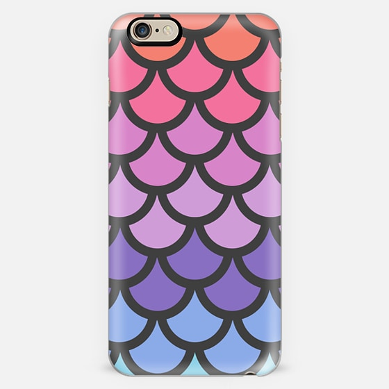 Sunset Ombre Mermaid Scales -