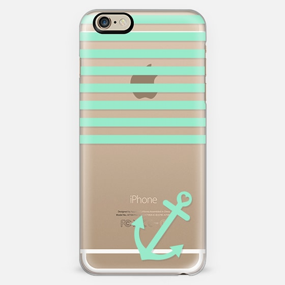 Mint Nautical Transparent  -