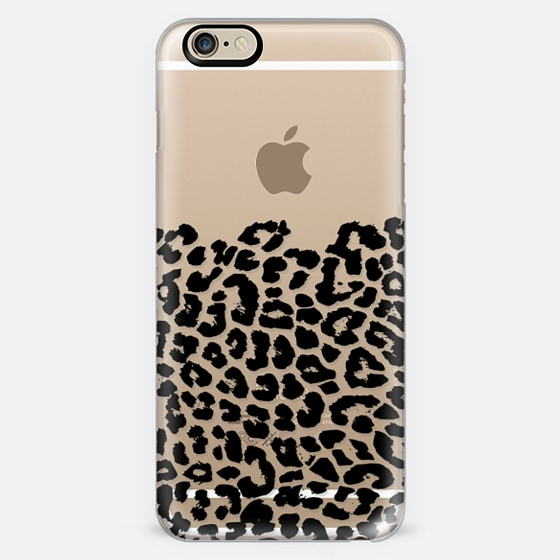 Wild Black Leopard Transparent  -