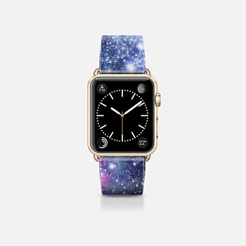 Apple Watch Band (38mm) Case Galaxy Stars