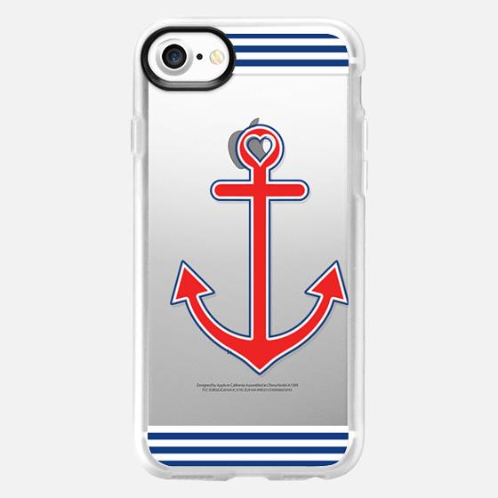 Classic Nautical Love Transparent - Wallet Case