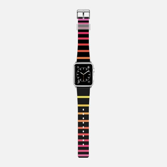 Sunrise Ombre Stripes Black -