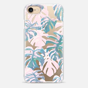 iPhone 7 Case Polka and Pure Oasis Blues by Dash and Ash