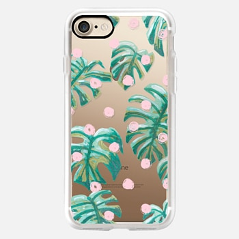 iPhone 7 Case Pure Oasis in Polka by Dash and Ash