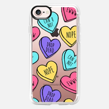 iPhone 7 Case Bitter Sweet Candy Hearts