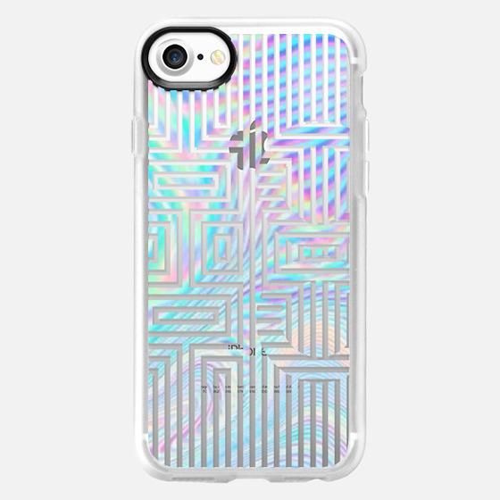 iridescent xoxo - Wallet Case