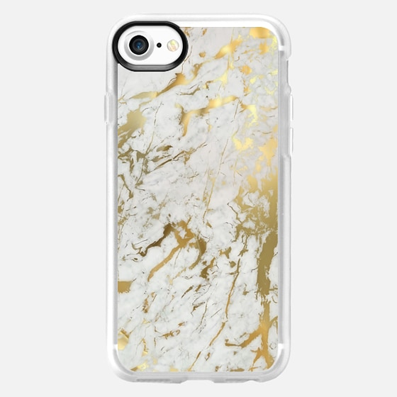 Gold marble - Wallet Case