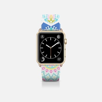 Apple Watch Band (38mm) Case Pastel pattern
