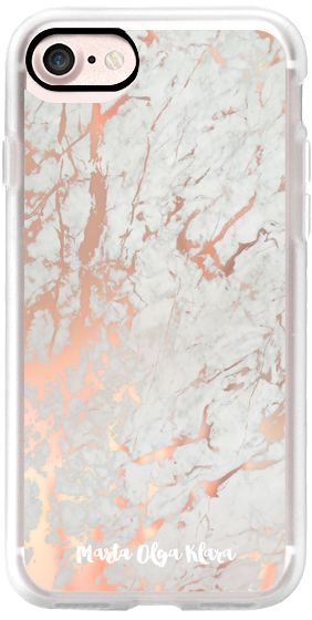 Rose gold marble / pink marble pattern