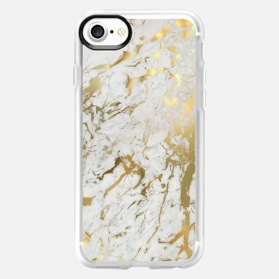 Gold marble - Classic Grip Case