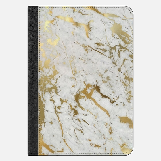 iPad Mini 4 Case - Gold marble