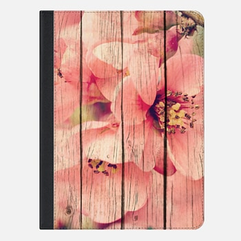 "iPad Pro 9.7"" Case Old Wood Blossoms iPad"